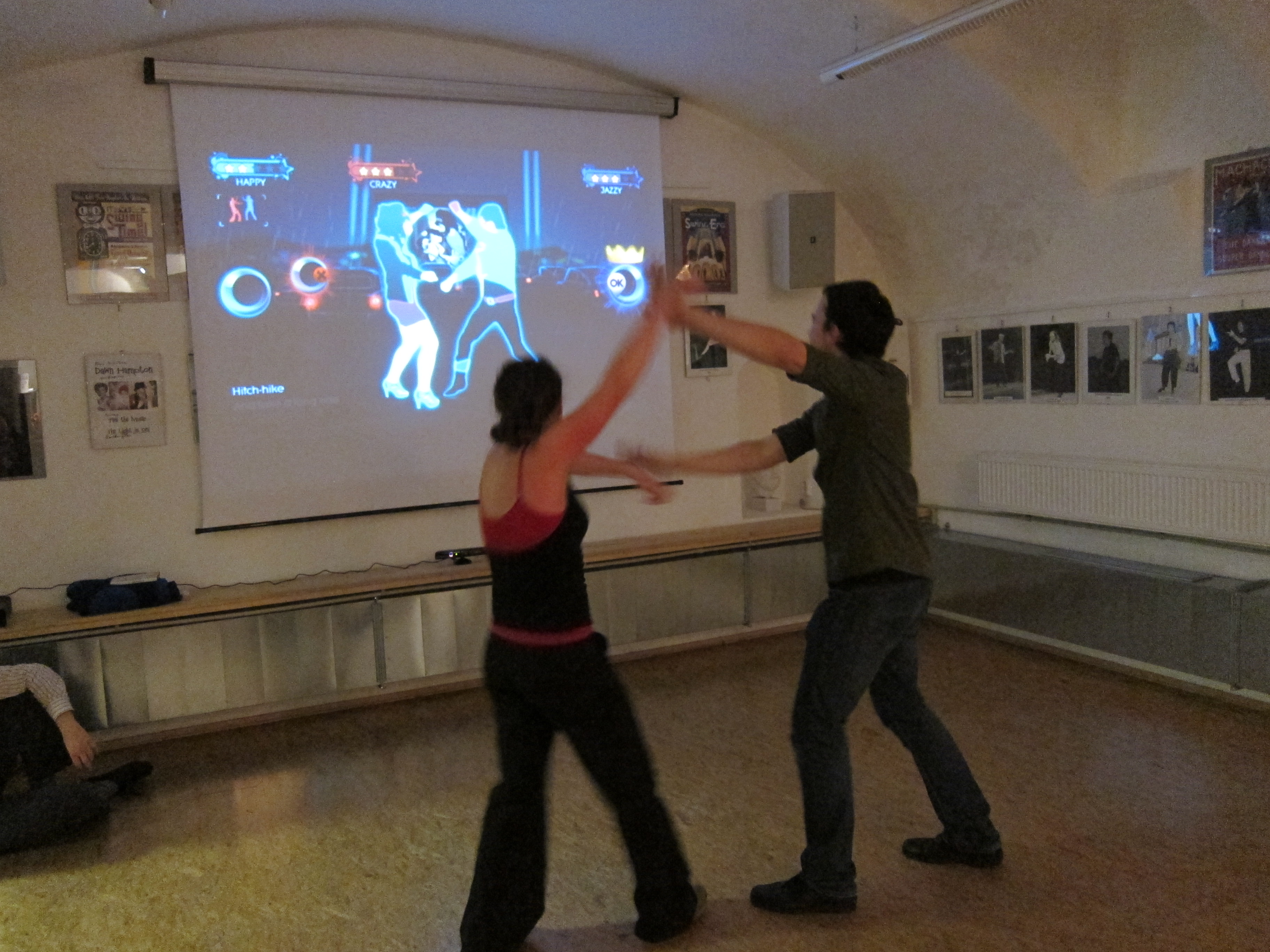Image: And I discover XBox Kinect Dancing